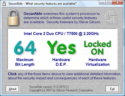 SecureAble Interface