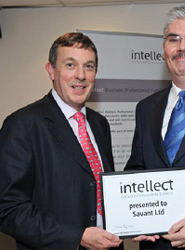 John Higgins presents an award to an IT company for being an IT company.png