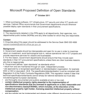 Microsoft-proposed Cabinet Office open standards PPN.png