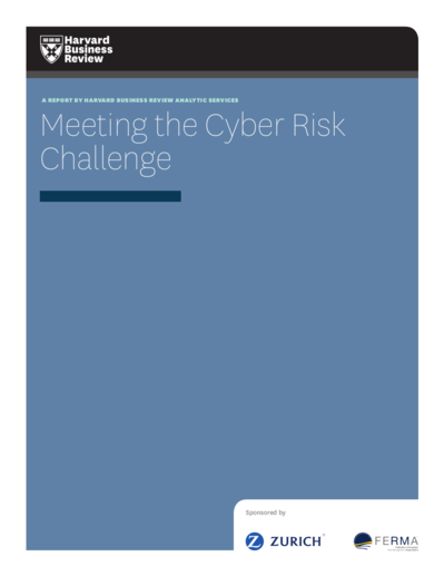 Meeting the Cyber Risk Challenge - Harvard Business Review - Zurich Insurance group.png