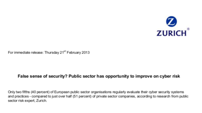 Zurich Insurance Group - False Sense of Security - Public sector has opportunity to improve on cyber risk.png