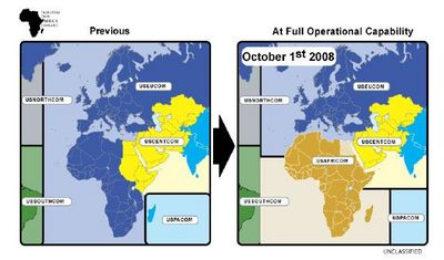 Transfer of Africa operations from US Central Command to Africom - 2008 - Congressional Research Service - 2010.jpg