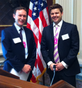 David Rennie and Chris Ferguson on UK Cabinet Office Identity Assurance team on visit to Washington - May 2012 - CROPPED 2.png