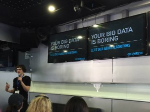 Liz Rush talks about why a big data algorithm should be on your dev agenda