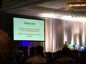 "The ""punch line"" of John Allspaw's talk at QCon New York"