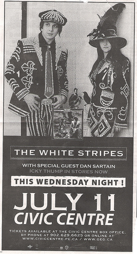 Yup, the Stripes are playing my home town.