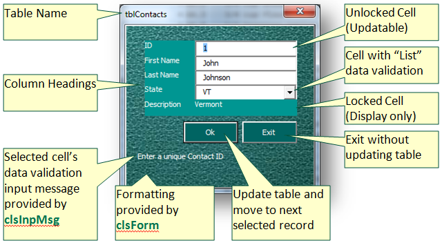 Creating Dynamic Forms Or Forms That Create Themselves Beyond Excel Vba And Database