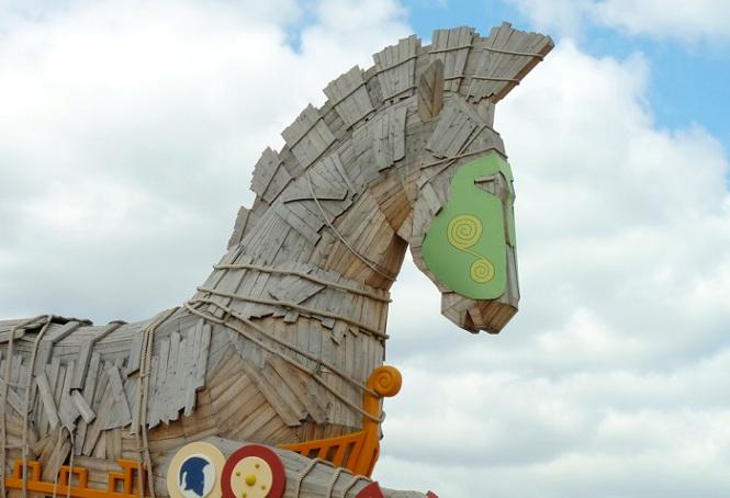 Image of trojan horse