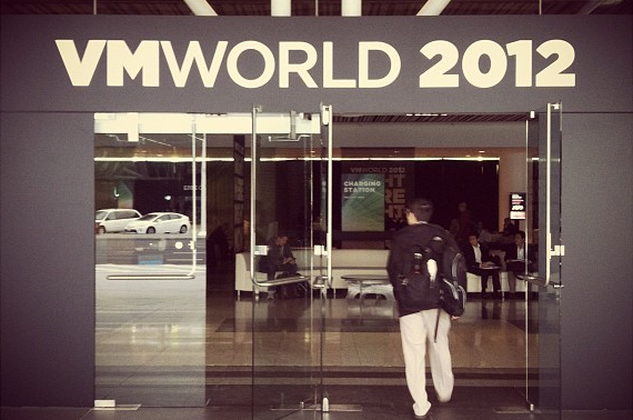 VMworld 2012 entrance