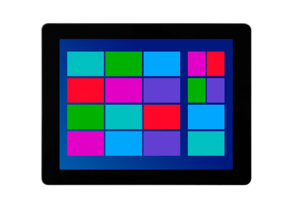 ShutterStock image of tablet