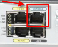 Cisco Console port