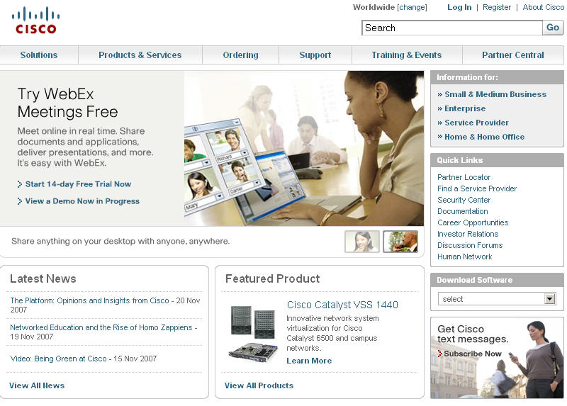 Cisco and Webex Together