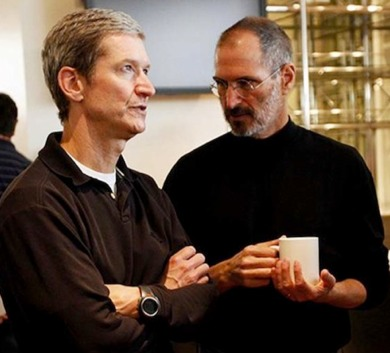 Steve Jobs is not walking through that door.