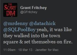 Grant's Tweet