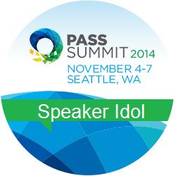 Speaker Idol 2014 Badge