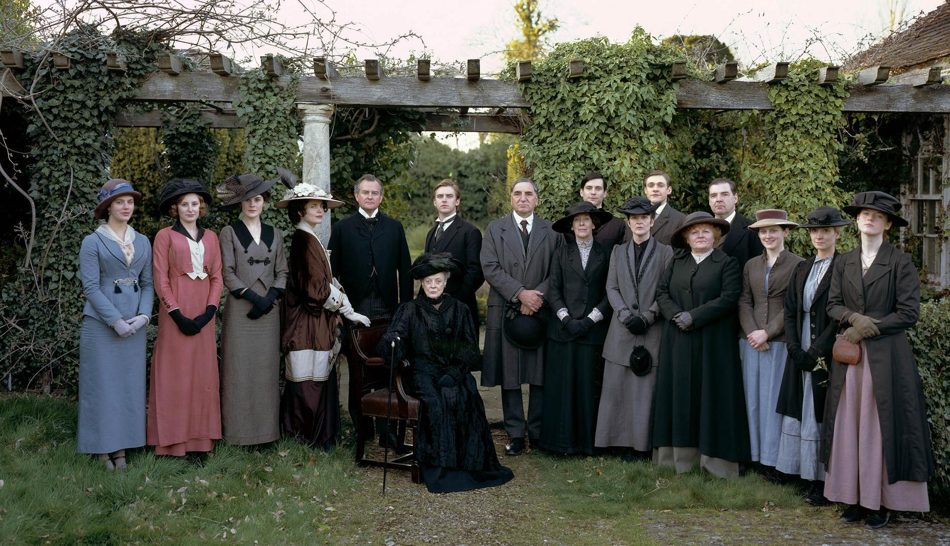 Downton Abbey's Cast