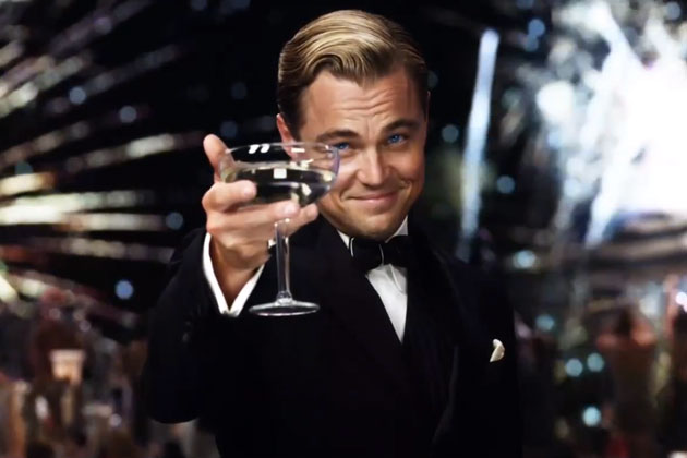 Leonardo Decaprio played a Lazy, Ambitious Man in 'The Great Gatsby'