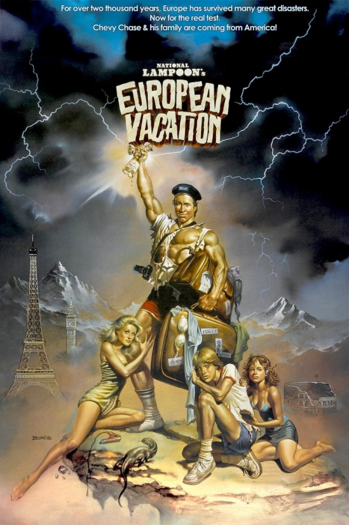 National Lampoon's European Vacation Movie Poster