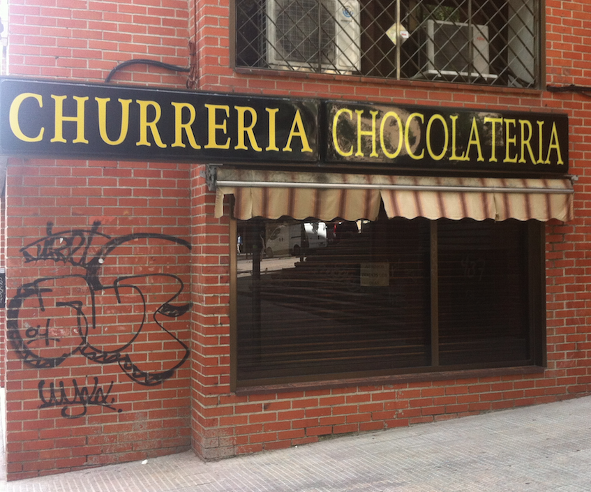 A Cafe in Madrid