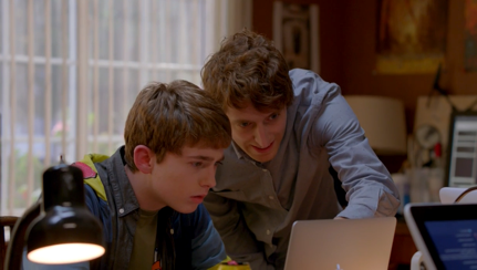 "Two programmers in HBO's ""Silicon Valley"""