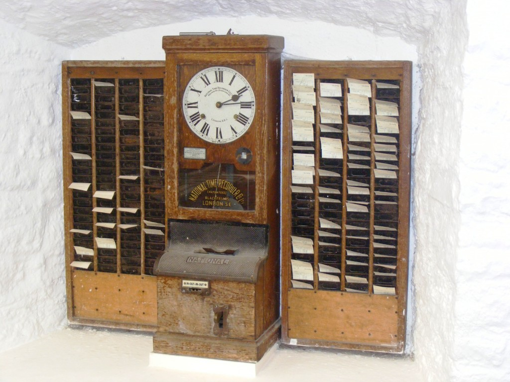 Time_clock_at_wookey_hole_cave_museum