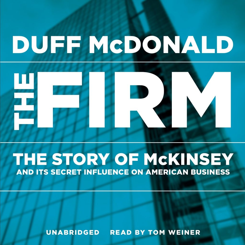 "Effective Management (Book Cover of ""The Firm"")"