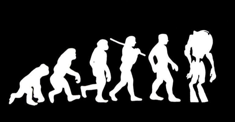 evolution-of-man-to-machine