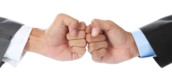 Image of fists