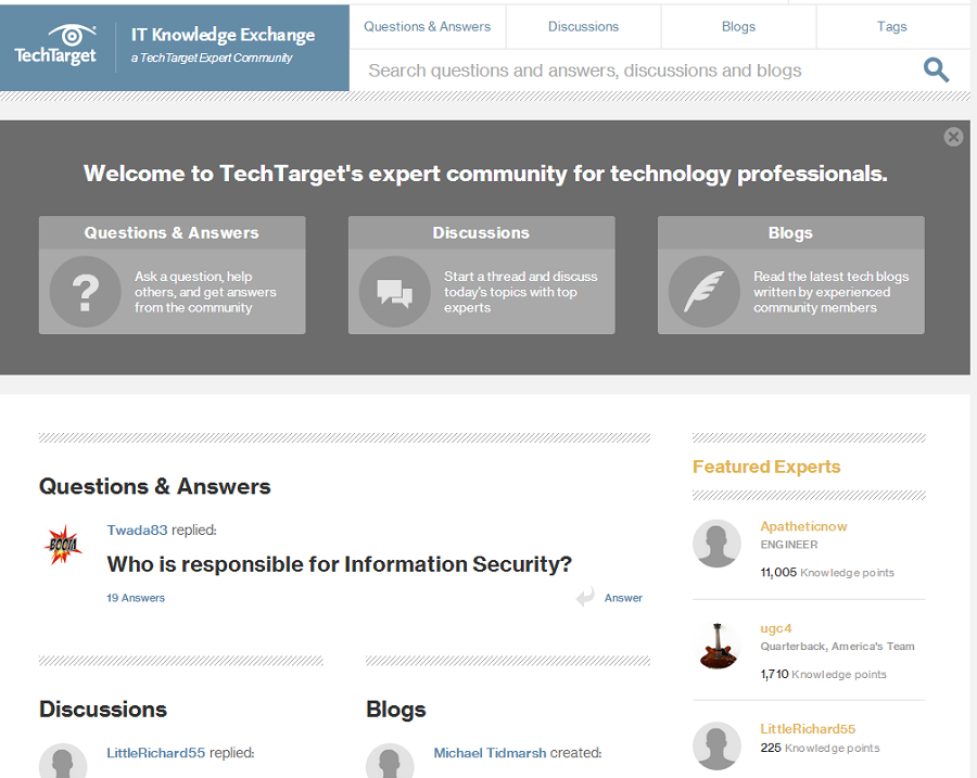 ITKE homepage