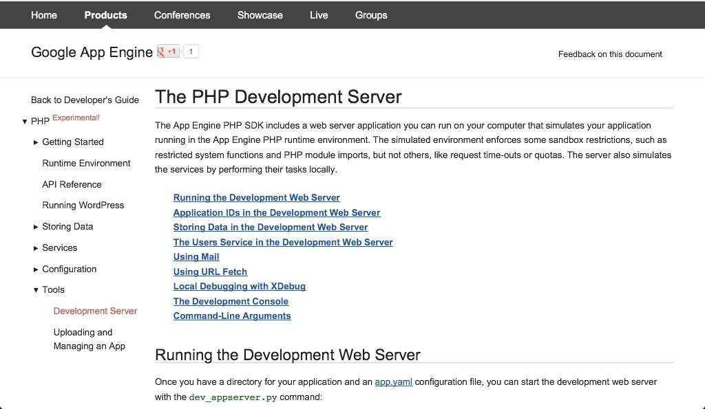 Google Cloud Platform PHP Support