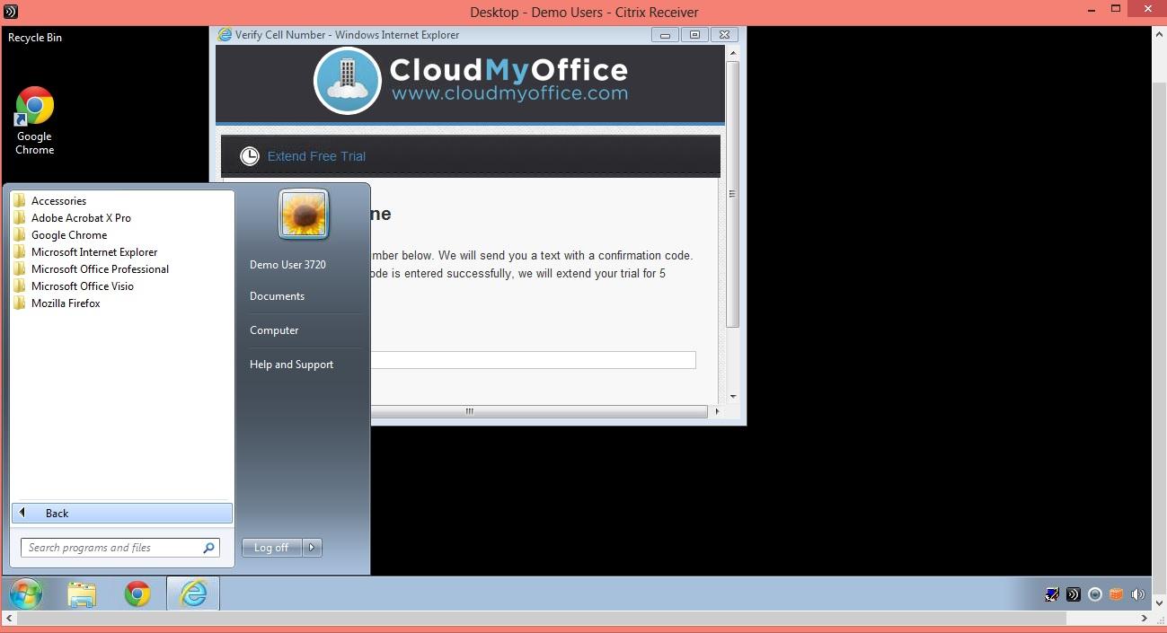 CloudMyOffice_start