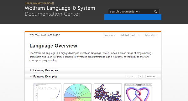 WolframLanguageDocPreview