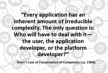 tesler application complexity