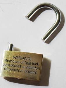 Privacy Padlock