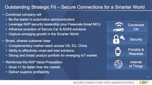 NXP silicon M&A