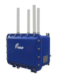 Figure 5: Intrinsically safe Wi-Fi tag and Class 1 Division 1 Wi-Fi access point