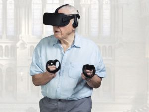 Sir David Attenborough in Virtual Reality
