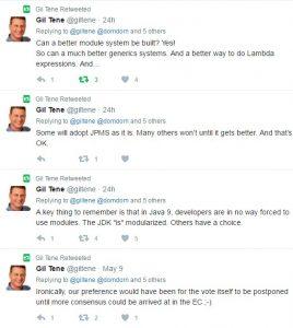 Gil Tene defends Azul's JCP vote.