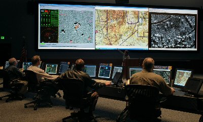 Cyberwarfare Control Center