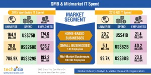 techaise, smb it, it spending, 2015
