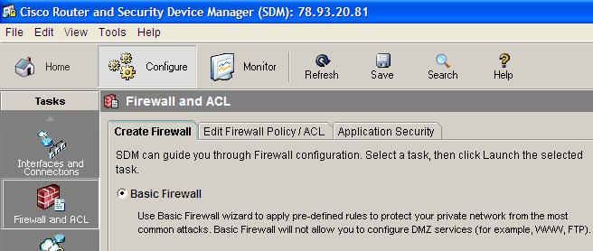 Firewall & ACL