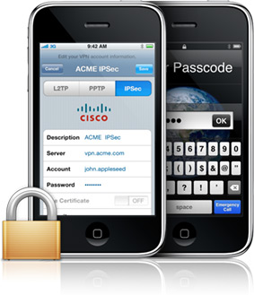 Do you know Apple iPhone Supports Cisco VPN Client? - Network ...