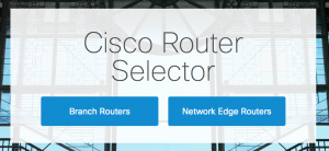 Figure 1.1 - Cisco Router Selector