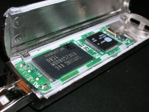 Inside flash drive
