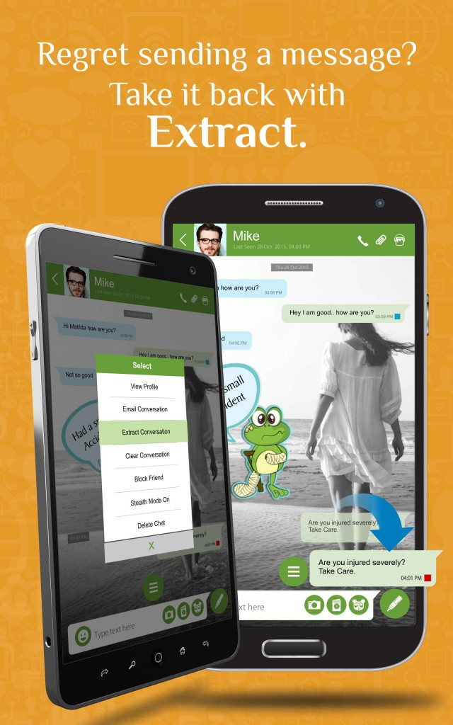 ngage is a second generation messaging app