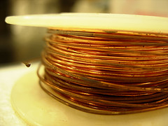 Picture of copper spool from Jack Hess