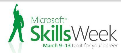 Micrososft Skills Week Branding/Logo