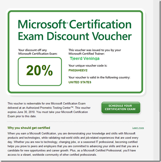 MCT Discount Voucher