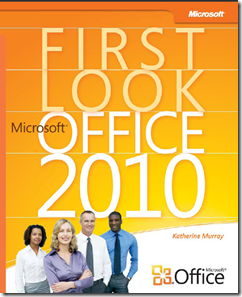 Cover shot of free MS Office 2010 ebook