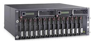 A typical storage array (HP StorageWorks)